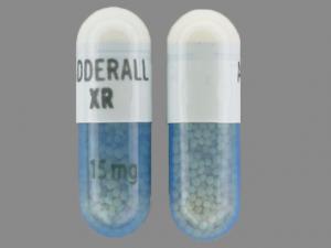 Adderall XR 15mg 1
