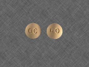 Oxycontin OC 40mg 1